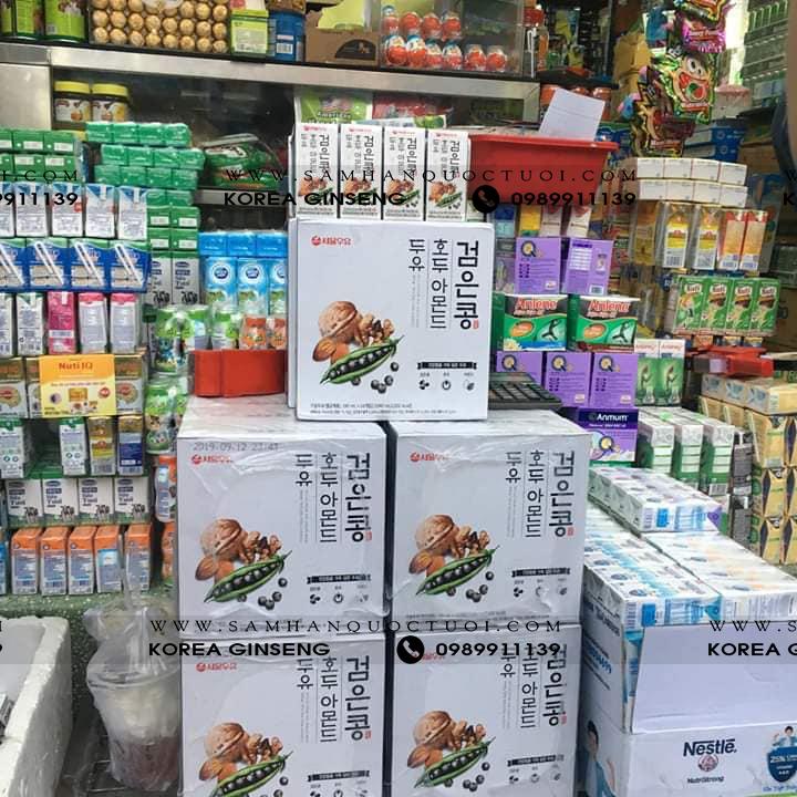 Địa Chỉ Mua Sữa Óc Chó Hạnh Nhân Hàn Quốc