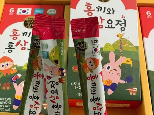 Nước hồng sâm baby Hongki Nonghyup